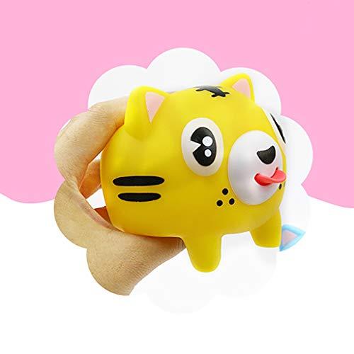Plüsch Bildung Squishy Spielzeug aufblasbares Spielzeug im Freien Spielzeug,Neuheit Dekompression Venting Zunge quetschen niedlich lustige Puppe Kinderspielzeug ()