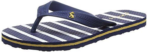Joules Boys Jnr Flipflop Flip Flops, Blue (French Navy Stripe), 13 Child UK 32 EU