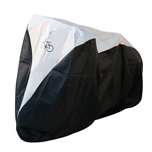 Fahrradabdeckung,Fahrrad Regenschutz,180T PU Fahrradabdeckung Wasserdicht,Staubschutz Anti-UV Wasserdichte Fahrradschutzhülle,Regenschutz Schutzbezug für Fahrrad/Mountainbike/Motorrad S(für 1 Fahrräder)