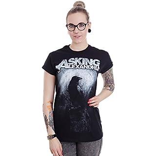 Asking Alexandria - Black Crow - T-Shirt-Large