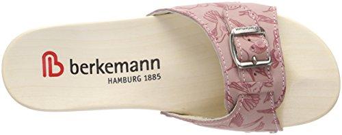 Berkemann Hamburg, Mules Femme Rot (altrosa/kolibri)