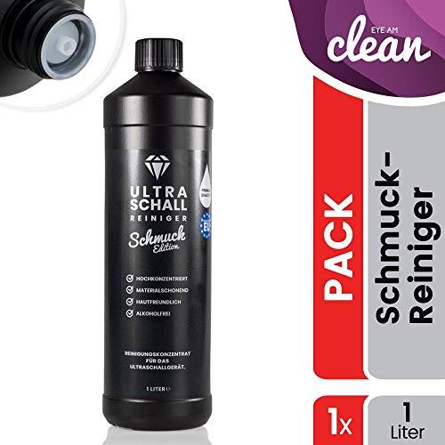 Ultraschallreiniger Konzentrat - Schmuck Edition 1 Liter - Reinigungskonzentrat für jedes Ultraschallreinigungsgerät, Ultraschallbad (1000ml)