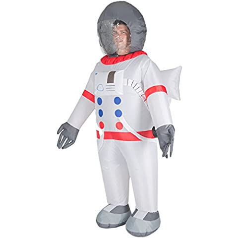 Inflatable Spaceman NASA Adult Fancy Dress Spaceship