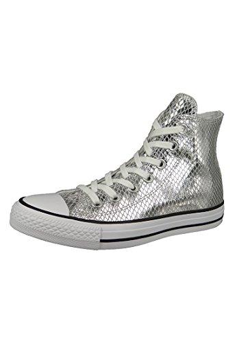 converse-ctas-hi-a-collo-alto-donna-argento-silver-black-white-37-eu