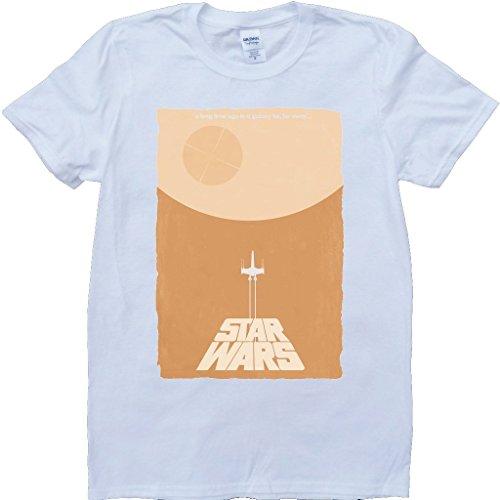 Stern Kriege Am Weiß Benutzerdefinierten Gemacht T-Shirt Weiß