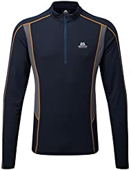 Mountain Equipment - Crux LS Zip Tee, Farbe-ME:Cosmos/Ombre Blue;Groesse-ME:M