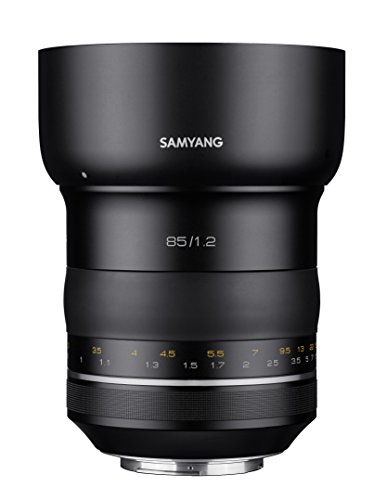 Samyang Premium 85mm F1.2 XP MF-Objektiv für Canon EF