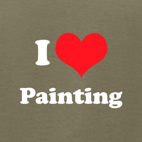 I Love Painting - Herren T-Shirt - 13 Farben Khaki