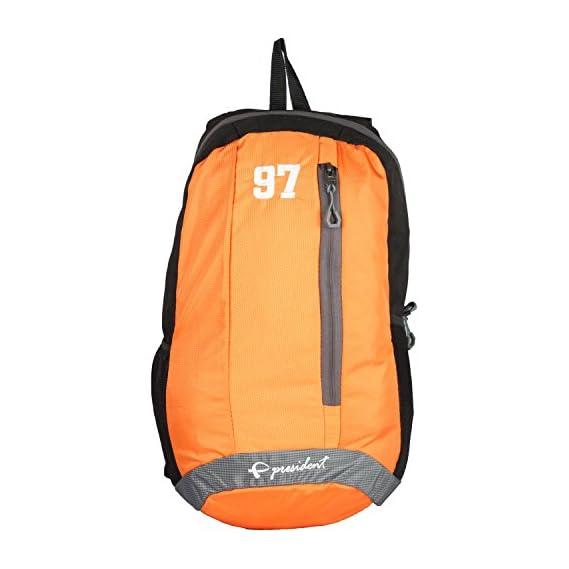 Quest Orange Backpack / School Bag by President Bags