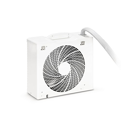 TROTEC Lokales mobiles Split Klimagerät Klimaanlage PAC 4600 mit 4,3 kW / 14.500 Btu (Inkl. Swing-Funktion, Programmierbarer 24-Stunden-Timer, Fernbedienung, 3 Ventilationsstufen, Automatikfunktion, Herausnehmbarer Luftfilter) - 2