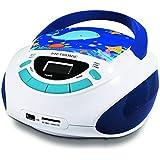 Metronic 477170 Car Radio CD MP3 Ocean for Children USB Blue