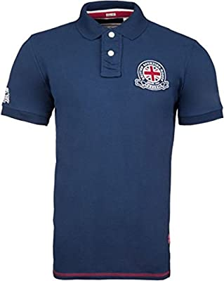 Lonsdale Polo Wall asey Men Slim Fit Polo - Dark Navy