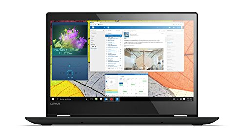 Lenovo Yoga 520 35,6 cm (14,0 Zoll Full HD IPS Touch) Convertible Notebook (Intel Core i7-7500U, 8GB RAM, 256GB SSD, Intel HD Grafik 620, Windows 10 Home) schwarz (Laptop I7 14 Lenovo)