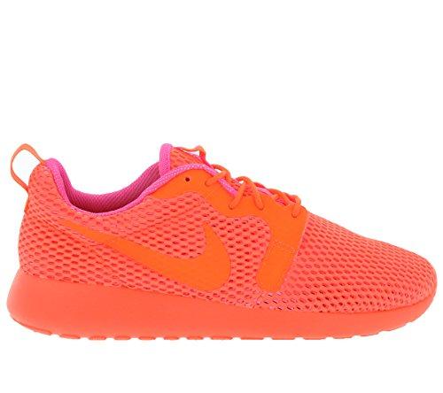 Nike W Roshe One Hyp Br, Baskets Basses Femme, Bleu, 36,5 EU Morado (Ttl Crimson / Ttl Crmsn-Pnk Blst)