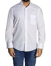 Muga chemise manches longues, Blanc