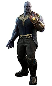 Hot Toys- Avengers Infinity War Masterpiece Action Figure 1/6, Color Thanos 41 cm, 1/6-THANOS