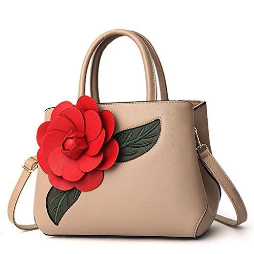 Willsego borsa a spalla/borsa a tracolla elegante design elegante borsa a mano per le donne (colore : cachi, dimensione : 31x11x17cm)