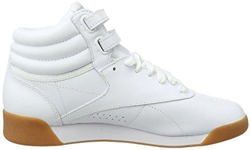 Reebok Damen F/S Hi Hohe Sneaker Elfenbein (Whitegum Whitegum)