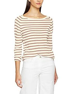 SELECTED FEMME Damen Langarmshirt Sfnive Stripe Ls Knit Pullover