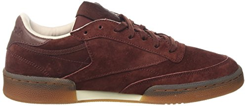 Reebok Herren Club C 85 G Gymnastikschuhe Orange (Burnt Sienna/sand Stone/chalk-gum)
