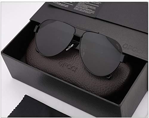 LKVNHP New Hohe Qualität Übergroßen Herren Polarisierte Sonnenbrille 150Mm Breites Gesicht Sonnenbrille Für Mann Fahren Hd Objektiv Marke Polaroid Anti Reflektieren UvSchwarz