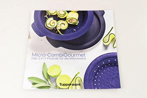 'TUPPERWARE Microondas Recetas 'micro de Combi Gourmet Recetas en alemán)