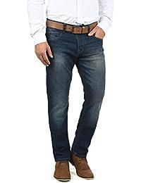 INDICODE Quebec Herren Jeans-Hose lange Hose Denim aus hochwertiger Baumwollmischung Regular-Fit