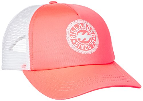 gsm-europe-billabong-femme-trucker-casquette-taille-unique-coral-shine