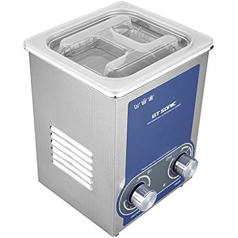 Floureon 2L Pulitore ad Ultrasuoni - Riscaldamento Timer Ultrasonic Cleaner