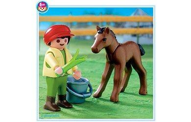 Clicks Granja Niño Con Pony