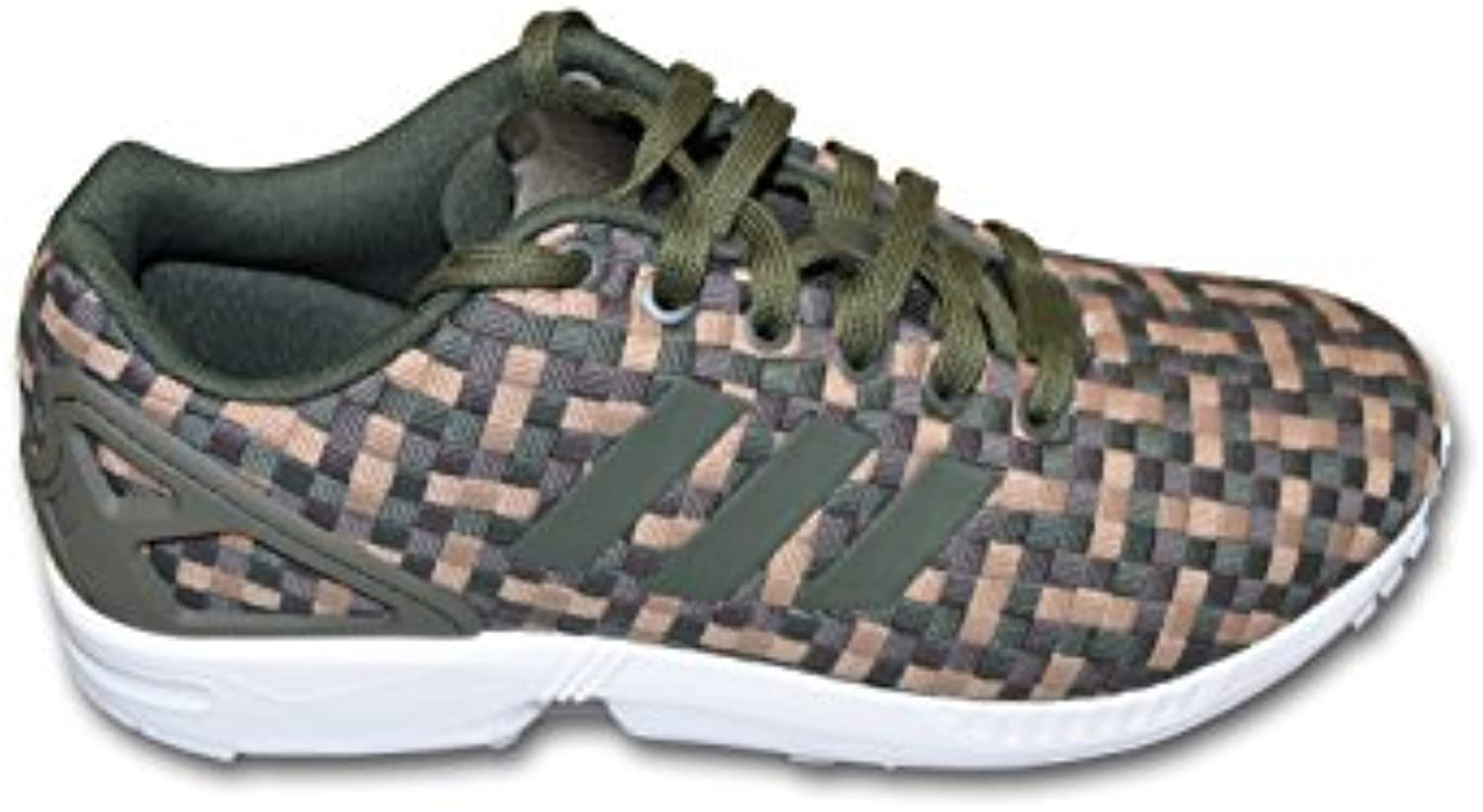 adidas Herren Sneaker Low Tops  Grün   Green Brown   Größe: