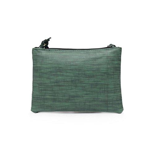 Donne Borsa Lunga Portafoglio Vintage Card Holder Wallet Bag Portafoglio  Donna Vintage Pelle Hit Colore Crossbody Borsa Borse Tracolla Messenger Bag  Morwind ... c54efa9046e