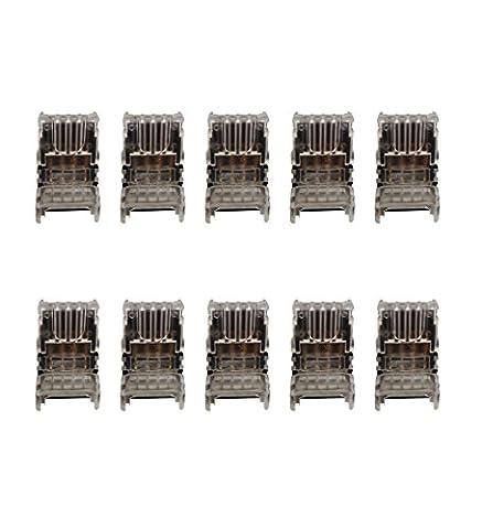 Alightings Connecteurs rapides sans dénudage Compatibles avec câbles 22–20AWG pour espaces automobiles