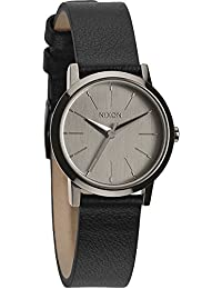 Nixon Kenzi Leather - Reloj , correa de cuero color negro