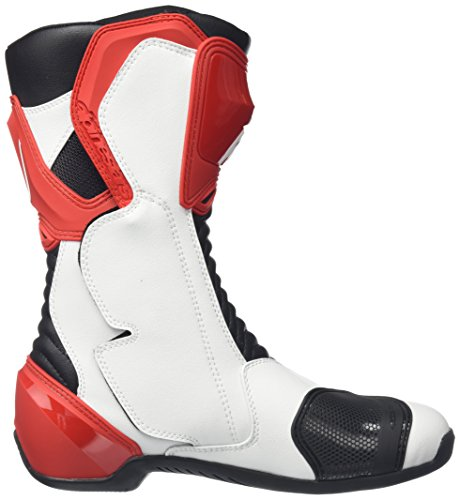 Alpinestars S-MX 6 Motorcycle Boots Size 10 White / Red