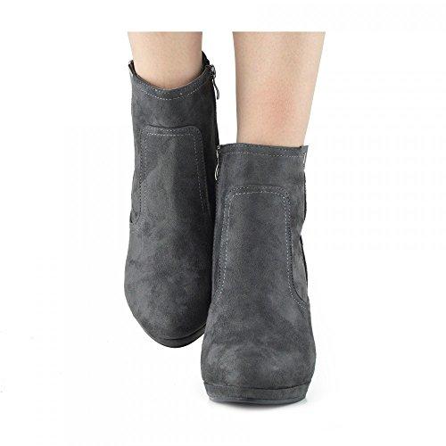 Kick Footwear Chelsea Boots, Stivali donna Grey
