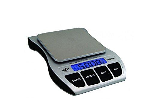 - Küchenwaage wiegt Post, Pakete, sprechend, für sehbehinderte und älteren Personen, 5 kg/1 g, 2 Jahre garantie