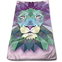 ewtretr Toallas De Mano,Lion Cool Towel Beach Towel Instant Cool Ice Towel Gym Quick