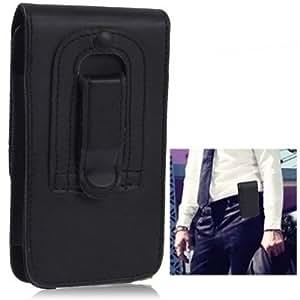 Etui en cuir synthétique avec clip ceinture pour iphone 5 et iphone 5S