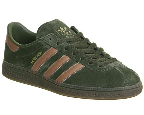 adidas München Solid Grey Solid Grey Gum KHAKI|GREEN