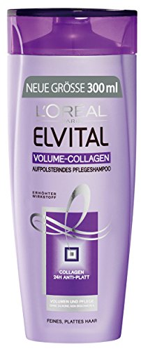 L'Oréal Paris Elvital Shampoo Volumen Collagen, 3er Pack (3 x 300 ml)