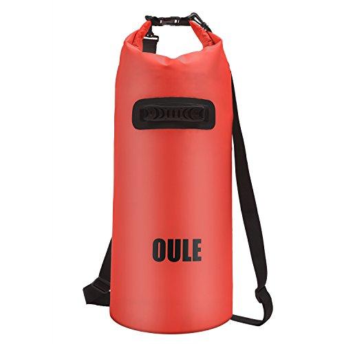 Packsack Drybag Wasserdichte Tasche aus Strapazierfähige LKW-Plane ca. 40 Liter in ORANGE