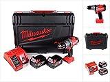 Milwaukee M18 FPD-502C Akku Schlagbohrschrauber 135 Nm im HD System Koffer mit 2x M18 B5 5