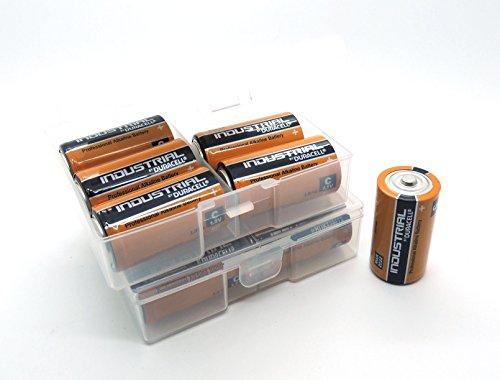 12 Batterien Duracell Baby C in Flachbox