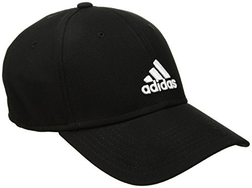 adidas Herren Rucker Stretch Fit Cap, Herren, schwarz/weiß Adidas Stretch Hat