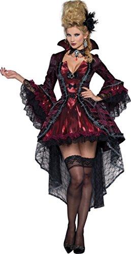 Womens Elegant Victorian Vamp Fancy dress costume ()