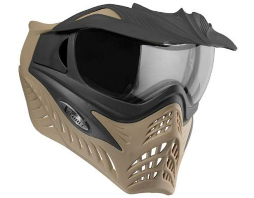 VForce Grill Paintball Thermal Maske SF - Coyote/Charcoal on tan