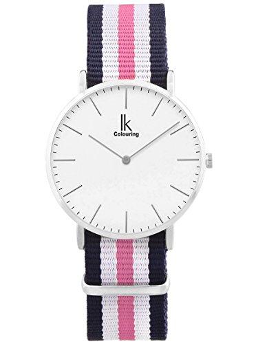 alienwork-orologio-quarzo-elegante-quarzo-moda-design-senza-tempo-classico-nylon-argento-blu-u04818l