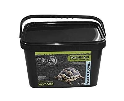 Komodo Complete Holistic Tortoise Diet Fruit and Flower 2kg tub by Komodo