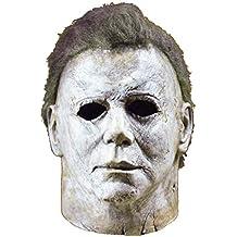 Ani·Lnc Michael Myers Máscara Película de Terror de Halloween Cosplay Látex Adulto Cara de